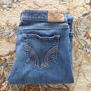 Hollister Boot denim blue jeans